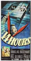 Fourteen Hours 1951 DVD - Paul Douglas / Richard Basehart
